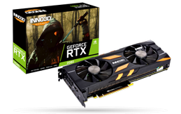INNO3D GeForce RTX 2080 X2 OC 8GB GDDR6, 1x USB Type-C, 1x HDMI 2.0b, 3x DisplayPort 1.4 (02)