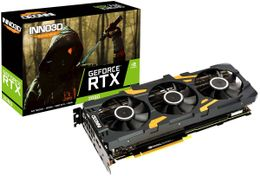 INNO3D GeForce RTX 2080 Gaming OC X3, 8GB GDDR6, 1x USB Type-C, 1x HDMI 2.0b, 3x DisplayPort 1.4