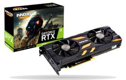 INNO3D GeForce RTX 2070 Gaming OC X2, 8GB GDDR6, 1x USB Type-C, 1x HDMI 2.0b, 3x DisplayPort 1.4