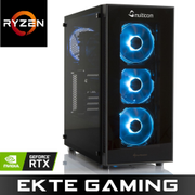 Multicom Noox A620R RGB Gaming-PC AMD Ryzen 5 2600, 8GB, 480GB SSD, GeForce RTX 2060 6GB, 500W, Uten operativsystem