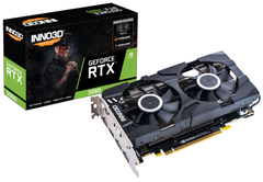 INNO3D GeForce RTX 2060 Twin X2 - Grafikkort - GF RTX 2060 - 6 GB GDDR6 - PCIe 3.0 x16 - HDMI, 3 x DisplayPort