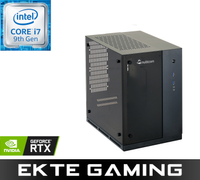Multicom Kayla i739CR Gaming PC Intel Core i7-9700K, 32GB DDR4 RAM, 1TB PCIe SSD, 2TB HDD, GeForce RTX 2080 8GB, Thunderbolt 3/USB-C, 500W, Uten OS, demobrukt