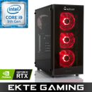 Multicom Noox i635CR Gaming PC Intel Core i9-9900K, 16GB, 500GB PCIe SSD, 3TB harddisk, GeForce RTX 2080 8GB, 700W, Uten operativsystem,  demobrukt