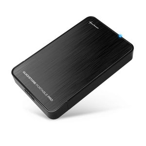 "Sharkoon QuickStore Portable Pro USB3.0 2.5"", Black (4044951011261)"