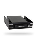 """Chieftec External/ Swappable Harddisk Case for 2.5"""" S-ATA HDD USB 3.0 Black Box Series w/5.25"""" and 3.5"""" Swap Frames"""