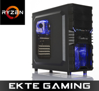 Multicom Tycho A519R Gaming PC AMD Ryzen 5 2600, 16GB, 512GB PCIe SSD, GeForce GTX 1660 Ti 6GB, 450W, Uten operativsystem