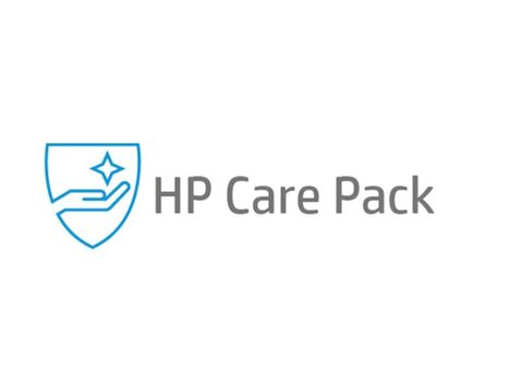HP Electronic HP Care Pack Next Business Day Hardware Support - utvidet serviceavtale - 3 år - på stedet (U6Y78E)