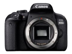 Canon EOS 800D - Digitalkamera - SLR - 24.2 MP - APS-C - 1080 p / 60 fps - 3optisk x-zoom EF-S 18-55 mm IS STM linse - Wi-Fi, NFC, Bluetooth