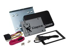 Kingston UV500 Desktop/Notebook upgrade kit - Solid State Drive - kryptert - 480 GB - intern - 2.5