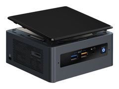 Intel Next Unit of Computing Kit NUC8I5BEH - Barebone - mini-PC - 1 x Core i5 8259U / 2.3 GHz - Iris Plus Graphics 655 - GigE, Bluetooth 5.0 - WLAN: 802.11a/b/g/n/ac, Bluetooth 5.0 - vPro