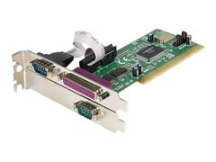 StarTech 2S1P PCI Serial Parallel Combo Card with 16550 UART - Parallell / seriell adapter - PCI - parallell, seriell - 3 porter