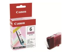 Canon BCI-6PM - Fotomagenta - original - blekkbeholder - for i90X, 9100, 950, 96X, 990, 99XX; PIXMA iP6000, iP8500, MP450; S800, 820, 830, 900, 9000