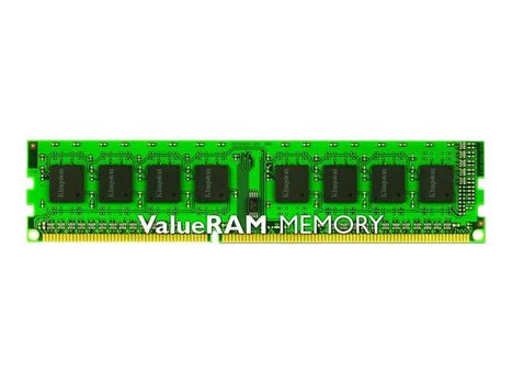 Kingston ValueRAM - DDR3 - 8 GB - DIMM 240-pin - 1600 MHz / PC3-12800 - CL11 - 1.5 V - ikke-bufret - ikke-ECC