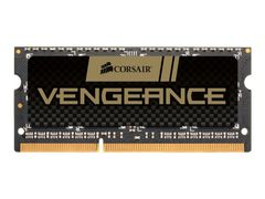 Corsair Vengeance - DDR3 - 8 GB - SO DIMM 204-pin - 1600 MHz / PC3-12800 - CL10 - 1.5 V - ikke-bufret - ikke-ECC