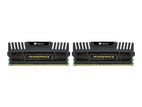 Corsair Vengeance - DDR3 - 8 GB: 2 x 4 GB - DIMM 240-pin - 1600 MHz / PC3-12800 - CL9 - 1.5 V - ikke-bufret - ikke-ECC