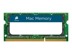 Corsair Mac Memory - DDR3 - 16 GB: 2 x 8 GB - SO DIMM 204-pin - ikke-bufret