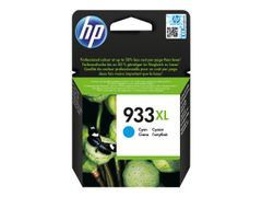 HP 933XL - Høy ytelse - cyan - original - blekkpatron - for Officejet 6100, 6600 H711a, 6700, 7110, 7510, 7610, 7612