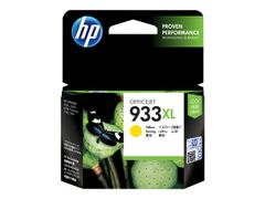 HP 933XL - Høy ytelse - gul - original - blekkpatron - for Officejet 6100, 6600 H711a, 6700, 7110, 7510, 7610, 7612