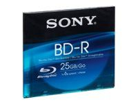 Sony BNR25SL - BD-R - 25 GB 6x - smalt cover