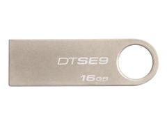 Kingston DataTraveler SE9 - USB-flashstasjon - 16 GB - USB 2.0 - champagne