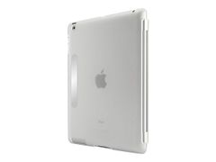Belkin Snap Shield Secure - Eske for nettbrett - plastikk - blank - for Apple iPad (3. generasjon)