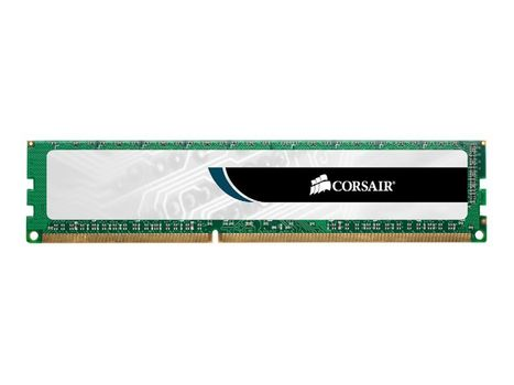 Corsair Value Select - DDR3 - 8 GB - DIMM 240-pin - 1333 MHz / PC3-10600 - CL9 - 1.5 V - ikke-bufret - ikke-ECC (CMV8GX3M1A1333C9)