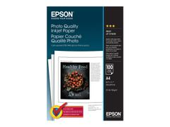 Epson Photo Quality Ink Jet Paper - papir - 100 ark - A4 - 102 g/m²