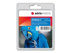 AGFAPHOTO 14 ml - cyan - blekkpatron (alternativ for: HP 920XL, HP CD972AE) - for HP Officejet 6000, 6000 E609, 6500, 6500 E709, 6500A E710, 7000 E809, 7500