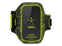 Belkin FastFit Plus - Armpakke for mobiltelefon - svart, lime - for Samsung Galaxy S III
