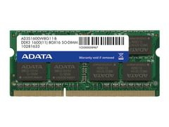 ADATA Premier Pro Series - DDR3L - 8 GB - SO DIMM 204-pin - ikke-bufret