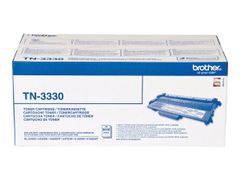 Brother TN3330 - Svart - original - tonerpatron - for Brother DCP-8110, 8150, 8155, 8250, HL-5440, 5450, 5470, 6180, MFC-8510, 8520, 8710, 8950