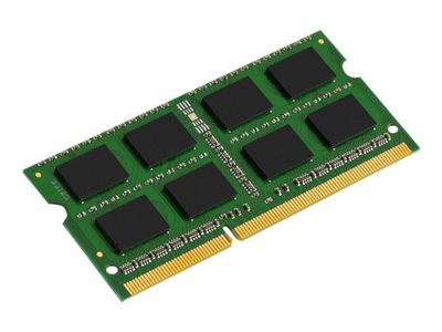 Kingston ValueRAM - DDR3 - 4 GB - SO DIMM 204-pin - 1333 MHz / PC3-10600 - CL9 - 1.5 V - ikke-bufret - ikke-ECC (KVR13S9S8/4)