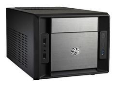 Cooler Master Elite 120 Advanced - Ultraliten formfaktor - mini-ITX (ATX / PS/2) - svart - USB/lyd