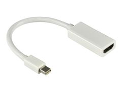 Deltaco DP-HDMI14 - video adapter - DisplayPort / HDMI - 20 cm