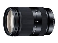 Sony SEL18200LE - Zoom-linse - 18 mm - 200 mm - f/3.5-5.6 OSS - Sony E-mount - for a5100 ILCE-5100, ILCE-5100L, ILCE-5100Y