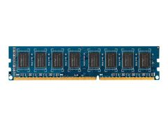 HP DDR3 - 2 GB - DIMM 240-pin - 1600 MHz / PC3-12800 - ikke-bufret - ikke-ECC - for HP 280 G1, 6300 Pro, 6305 Pro, Elite 8300 (DIMM)