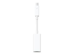 Apple Thunderbolt to Gigabit Ethernet Adapter - Nettverksadapter - Thunderbolt - Gigabit Ethernet - for iMac; Mac mini; MacBook Air; MacBook Pro