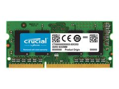 Crucial DDR3L - 4 GB - SO DIMM 204-pin - 1600 MHz / PC3-12800 - CL11 - 1.35 V - ikke-bufret - ikke-ECC