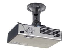 NEWSTAR Universal Projector Ceiling Mount, Height 18.5cm - Black - takmontering