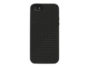 Belkin Flex Case - Eske for mobiltelefon - silikon - blank, svarttopp (en pakke 2) - for Apple iPhone 5 (F8W130VFC00-2)