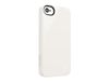 Belkin Shield - Eske for mobiltelefon - polykarbonat - hvit - for Apple iPhone 5 (F8W159VFC01)