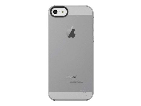Belkin Shield Sheer Matte - Eske for mobiltelefon - polykarbonat - blank - for Apple iPhone 5 (F8W162VFC01)