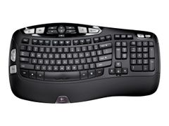 Logitech Wireless Keyboard K350 - tastatur - Nordisk