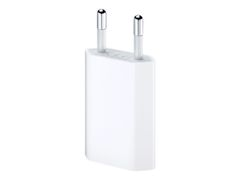 Apple 5W USB Power Adapter - Strømadapter - 5 watt (USB) - Europa - for Apple iPad/ iPhone/ iPod