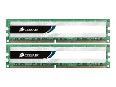 Corsair Value Select - DDR3 - 16 GB: 2 x 8 GB - DIMM 240-pin - 1600 MHz / PC3-12800 - CL11 - 1.5 V - ikke-bufret - ikke-ECC