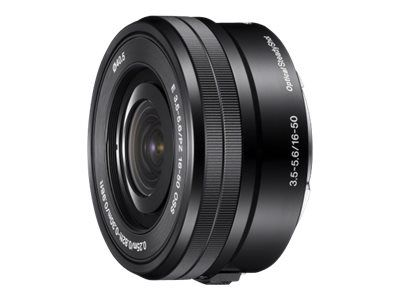 Sony SELP1650 - Zoom-linse - 16 mm - 50 mm - f/3.5-5.6 PZ OSS - Sony E-mount (SELP1650.AE)