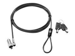 HP Ultraslim Keyed Cable Lock - Sikkerhetskabellås - 1.8 m - for HP 260 G2, 280 G2, 280 G3; EliteOne 705 G2; ProBook 11 G2, 64X G2, 65X G2; ProOne 400 G2