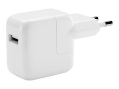 Apple 12W USB Power Adapter - Strømadapter - 12 watt (USB) - for iPad/ iPhone/ iPod
