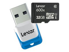 LEXAR High Performance - Flashminnekort - 32 GB - UHS Class 1 / Class10 - 600x - microSDHC UHS-I