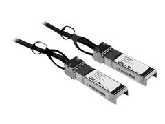 StarTech Cisco SFP-H10GB-CU1M Comp SFP+ DAC Cable - 1 m (3.3 ft.) - Direktekoblingskabel - SFP+ til SFP+ - 1 m - toakset - for Cisco Catalyst 2960, 2960G, 2960S; Nexus 93180, 9336, 9372; UCS 6140